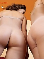 Sexy Twin style asses